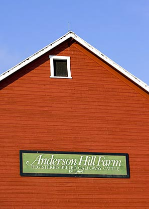 Anderson Hill Farms Were Established in 1969